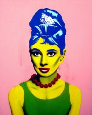 "Jared Aubel ""Audrey Hepburn Marge Simpson"""