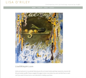Rewriten text for Lisa O'Riley's website